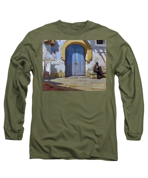Siesta Time In Naples Long Sleeve T-Shirt