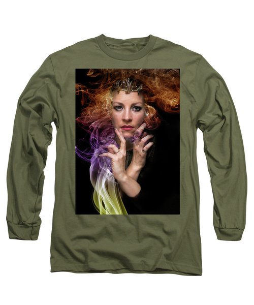 Sige Long Sleeve T-Shirt by David Clanton