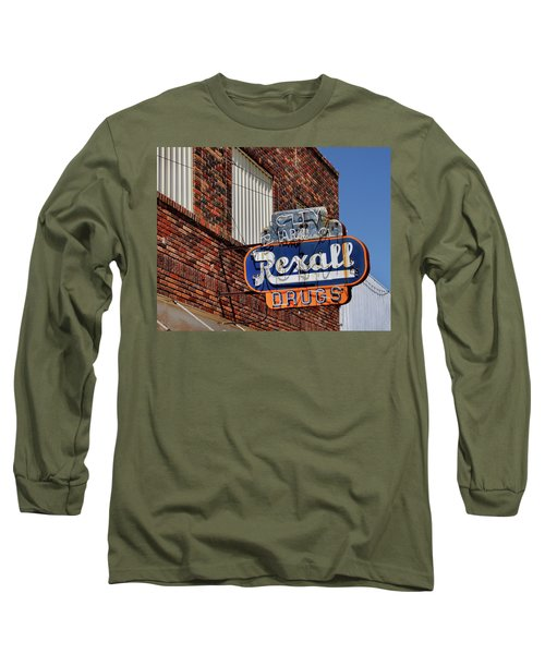Sign Of The Past Long Sleeve T-Shirt by David and Carol Kelly