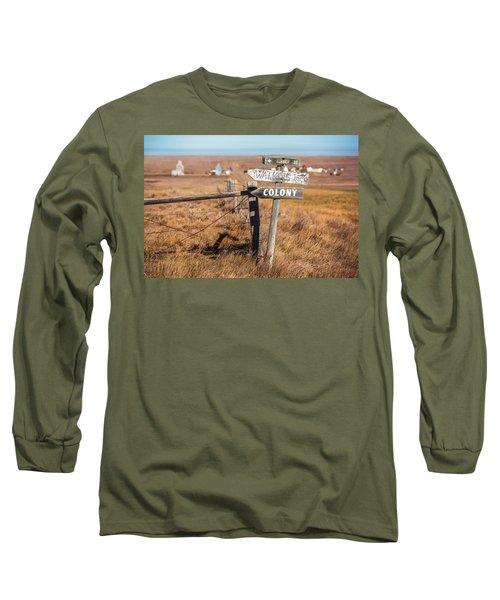 Sign Post Long Sleeve T-Shirt