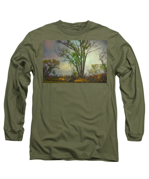 Long Sleeve T-Shirt featuring the photograph Signs  by Mark Ross