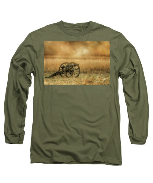 Silent Cannons At Gettysburg Long Sleeve T-Shirt