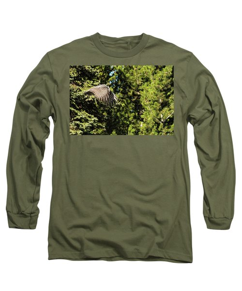 Silently Long Sleeve T-Shirt