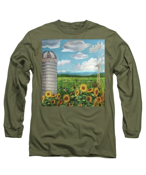 Silo Farm Long Sleeve T-Shirt