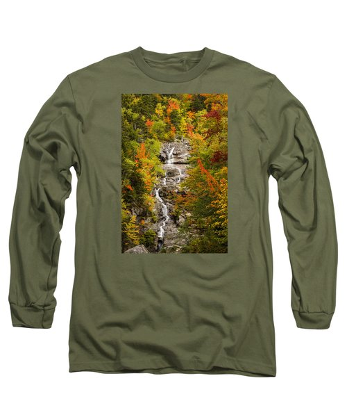 Silver Cascade Long Sleeve T-Shirt