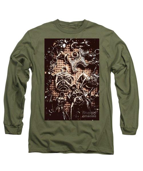 Silver Dog Show Long Sleeve T-Shirt