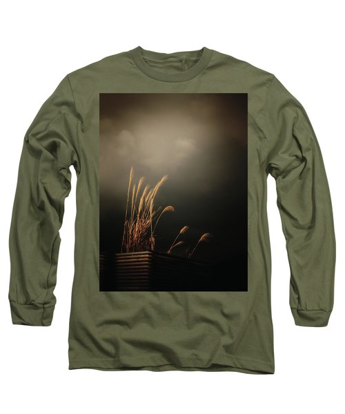 Silver Grass Long Sleeve T-Shirt