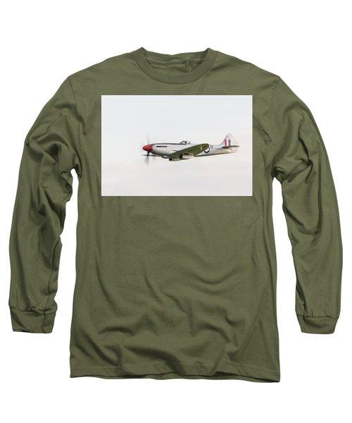 Silver Spitfire Fr Xviiie Long Sleeve T-Shirt
