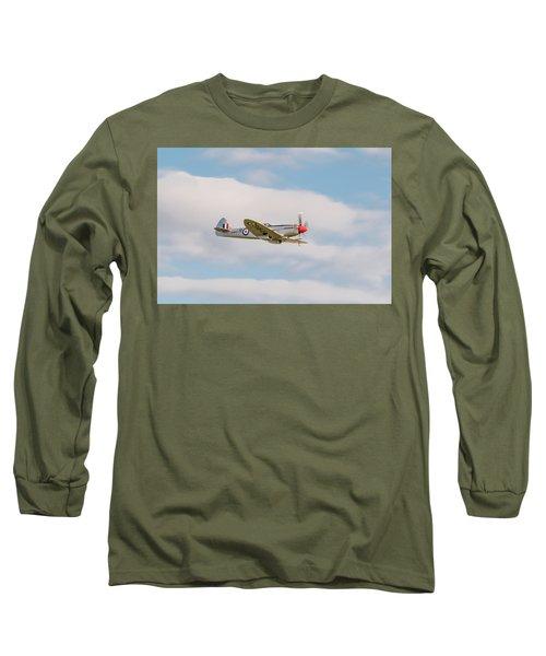 Silver Spitfire Long Sleeve T-Shirt