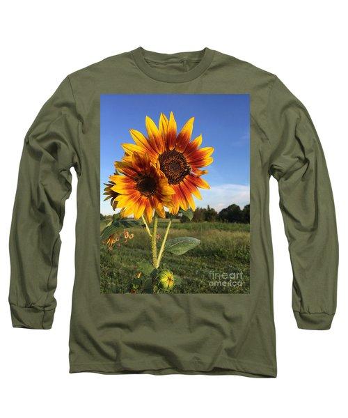 Sunflower  Beauty Long Sleeve T-Shirt