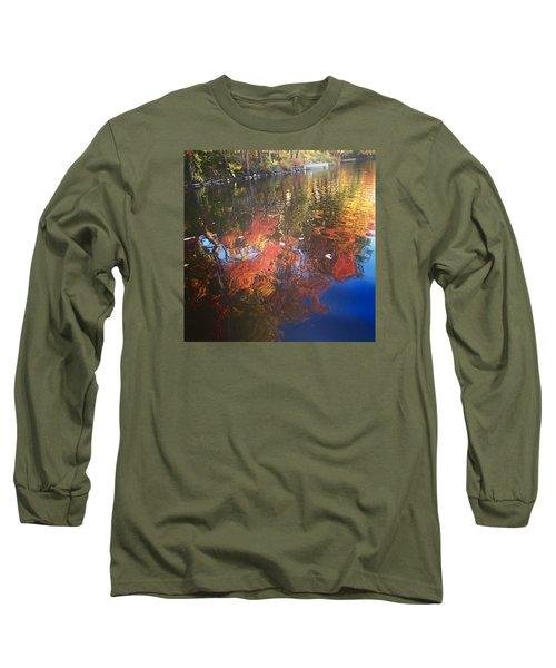 Simply Sensations Seasonal Swirls Long Sleeve T-Shirt by Jason Nicholas