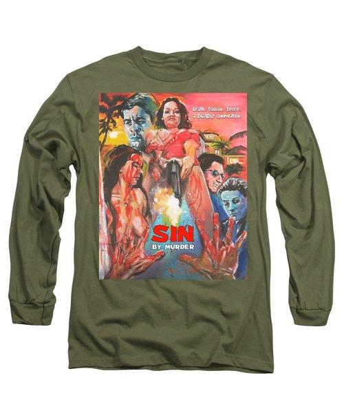 Sin By Murder Poster B Long Sleeve T-Shirt