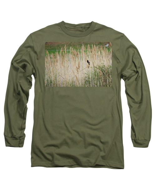 Long Sleeve T-Shirt featuring the photograph Sing For Spring by Bill Wakeley