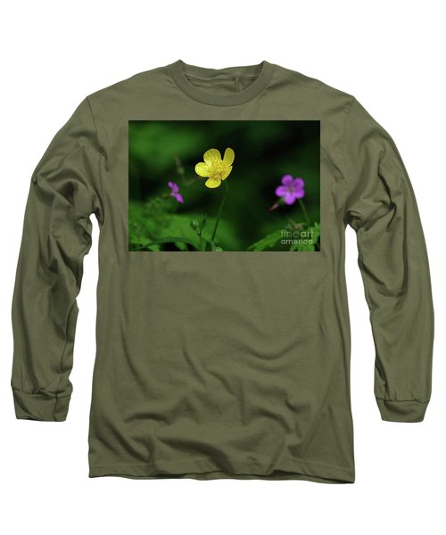 Single Buttercup Two Stinky Bob Long Sleeve T-Shirt