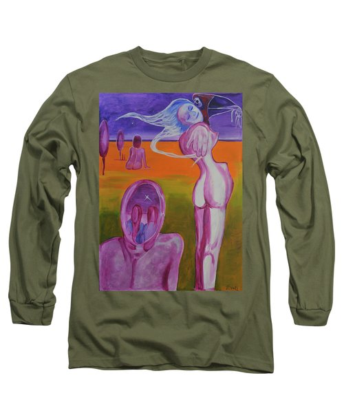 Sirens Long Sleeve T-Shirt by Christophe Ennis