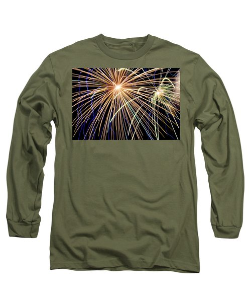 Sister Bay Fireworks Long Sleeve T-Shirt