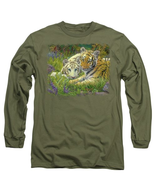 Sisters Long Sleeve T-Shirt by Lucie Bilodeau