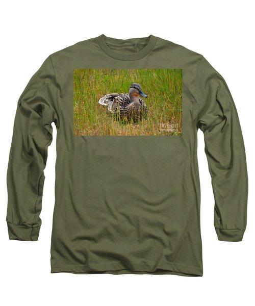 Sitting Duck Long Sleeve T-Shirt