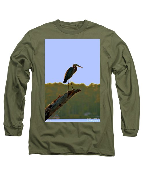 Sitting High On The Log Long Sleeve T-Shirt