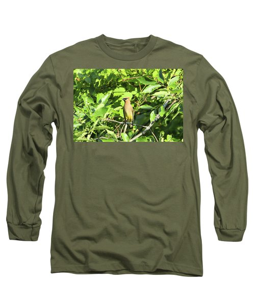 Sitting Pretty Long Sleeve T-Shirt by David Stasiak