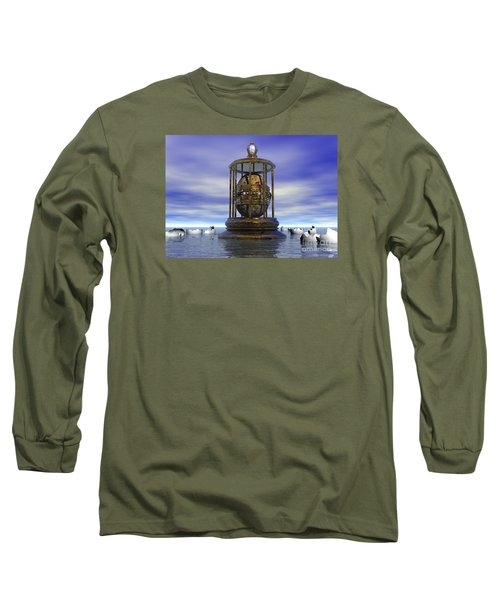 Sixth Sense - Surrealism Long Sleeve T-Shirt by Sipo Liimatainen