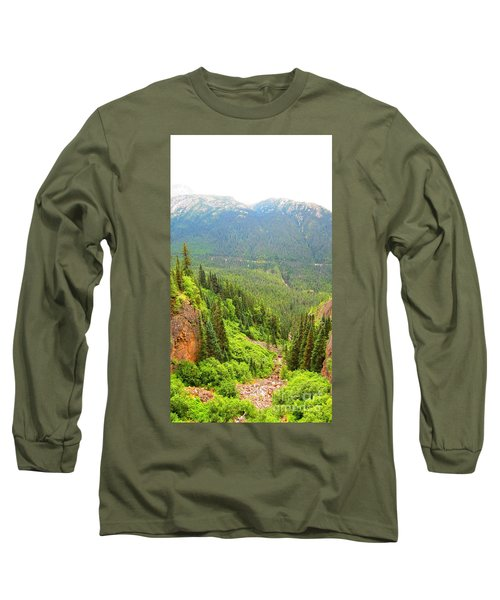 Skagway Alaska Long Sleeve T-Shirt