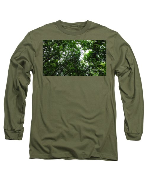 Skagway Green Long Sleeve T-Shirt