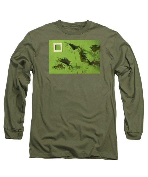 Skc 0683 The Nature Outside Long Sleeve T-Shirt by Sunil Kapadia