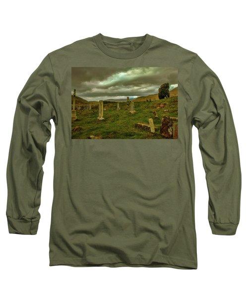 Skies And Headstones #g9 Long Sleeve T-Shirt