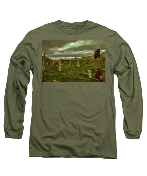 Skies And Headstones #g9 Long Sleeve T-Shirt