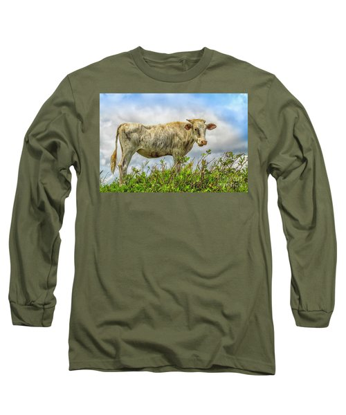 Skinny Cow Long Sleeve T-Shirt