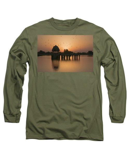 Skn 1372 Sunrise Flight Long Sleeve T-Shirt