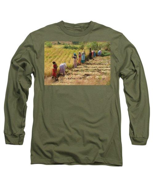 Skn 2611 Joint Effort Color Long Sleeve T-Shirt
