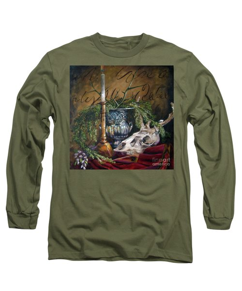 Skull And Candle Long Sleeve T-Shirt