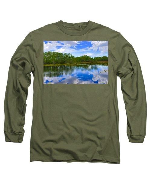 Sky Reflections Long Sleeve T-Shirt