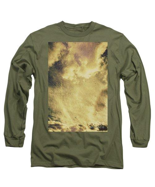 Sky Texture Background Long Sleeve T-Shirt