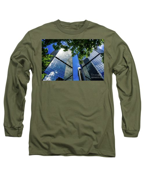 Skyscraper Spring Long Sleeve T-Shirt