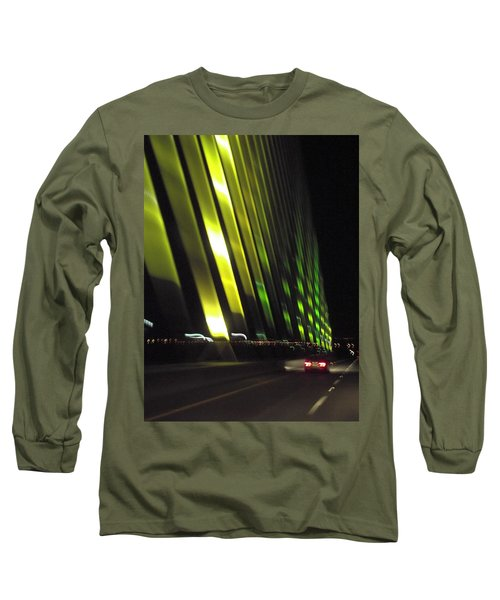 Skyway At Night 5559 Long Sleeve T-Shirt