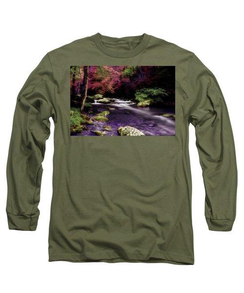 Sleep Walking Long Sleeve T-Shirt by Mike Eingle
