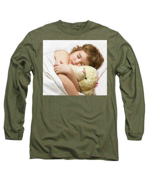 Sleeping Boy Long Sleeve T-Shirt