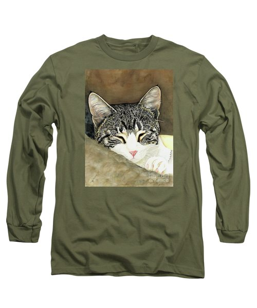 Sleeping Mia Long Sleeve T-Shirt