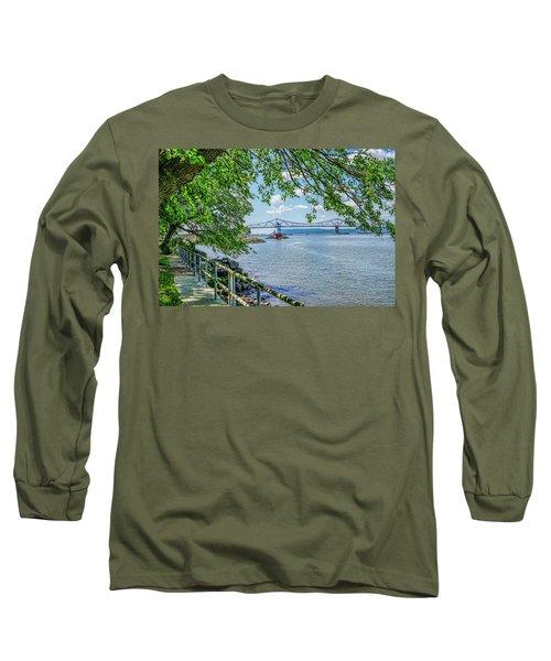 Sleepy Hollow/tarrytown Lighthouse Long Sleeve T-Shirt