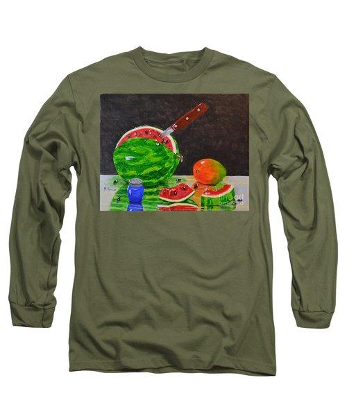 Sliced Melon Long Sleeve T-Shirt