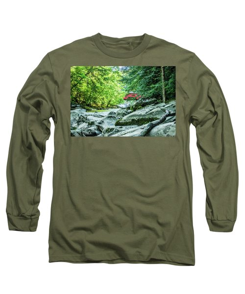 Slippery Rock Gorge - 1908 Long Sleeve T-Shirt