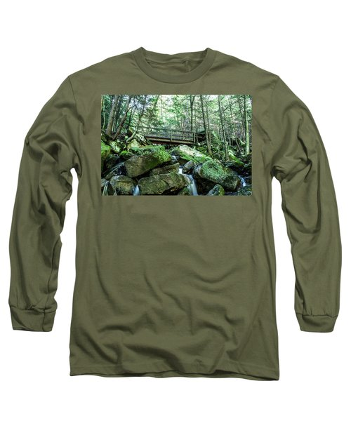 Slippery Rock Gorge - 1930 Long Sleeve T-Shirt