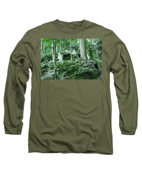 Slippery Rock Gorge - 1902 Long Sleeve T-Shirt
