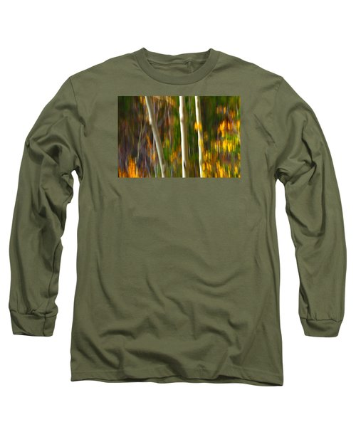 Slipping Through  Long Sleeve T-Shirt by Mark Ross