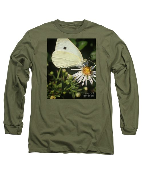 Sm Butterfly Rest Stop Long Sleeve T-Shirt by Christina Verdgeline