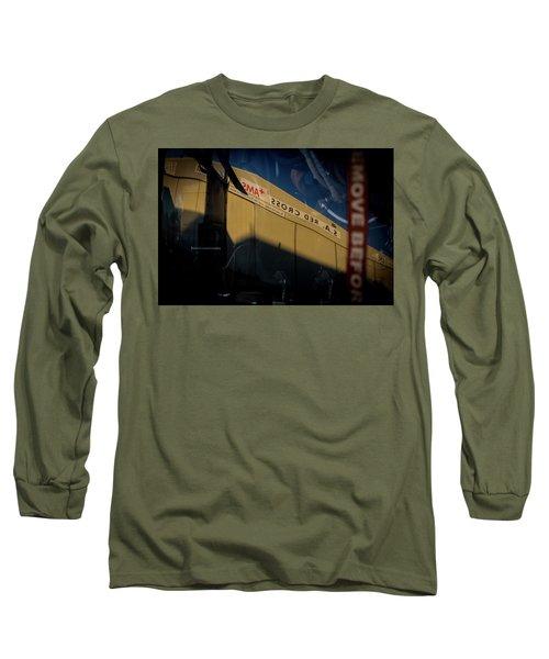 Long Sleeve T-Shirt featuring the photograph Sma Ssorc Der As by Paul Job