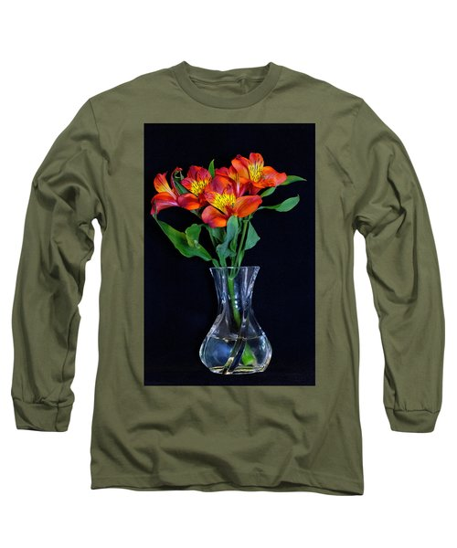 Small Bouquet Of Flowers Long Sleeve T-Shirt